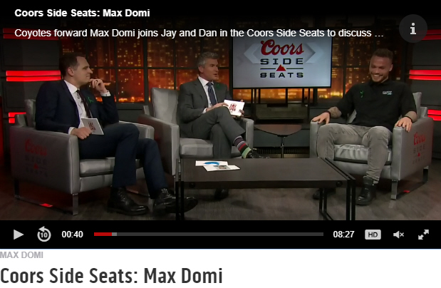 Max Domi - Coors Side Seats